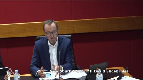 david shoebridge nsw parliament
