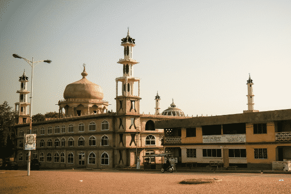 Central Mosque in Tamale, Northern Ghana.
