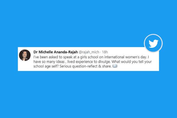 Dr Michelle Ananda-Rajah twitter thread