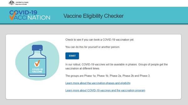 covid vaccine eligibility checker dept of health