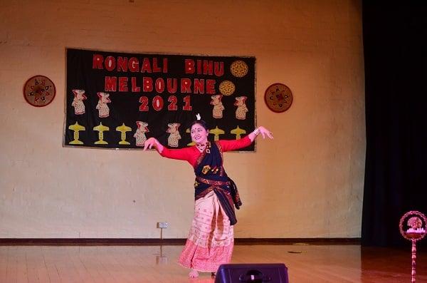 Bihu Dance at Rongali Bihu in Melbourne
