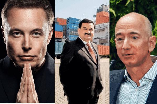 In 2021, Gautam Adani made more money thanElon Musk and Jeff Bezos