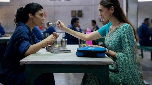 Konkona Sen Sharma and Aditi Rao Hydari in Ajeeb Daastaans