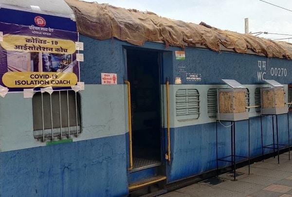 indian railways covid care centres