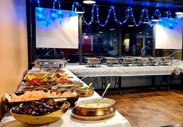 darbaar indian pakistani restaurant iftaar buffet