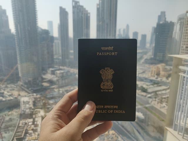 indian passport