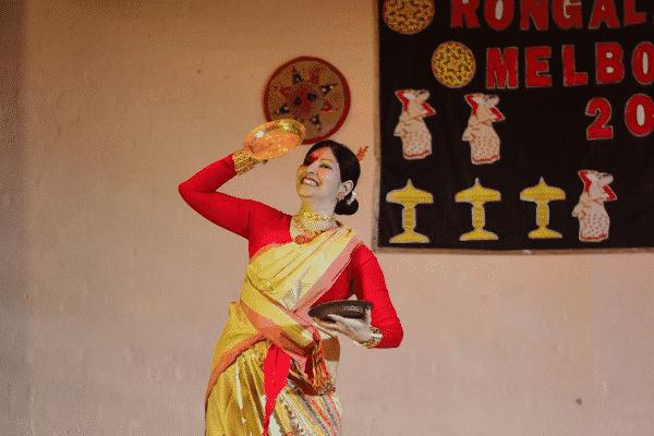 Bihu Dance by Barnali Sarma.