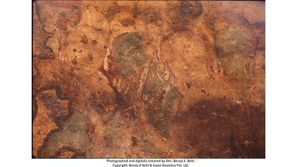 Earliest surviving Hindu painting