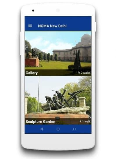 NGMA feature virtual exhibition mobile app
