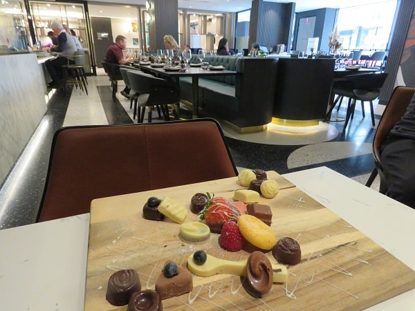 Chocolate indulgence Movenpick Hotel
