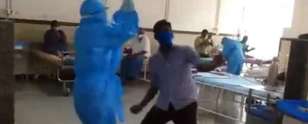 ambulance driver dancing