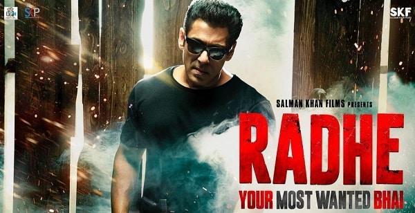 radhe film poster
