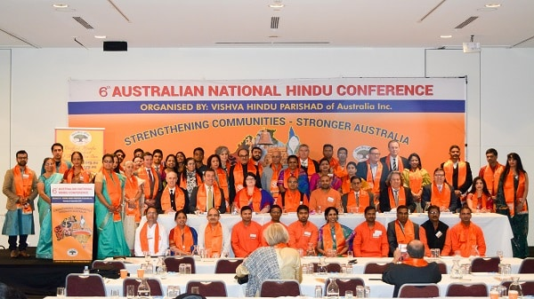 Photo from the 6th Australian National Hindu Conference organised by VHP Australia.