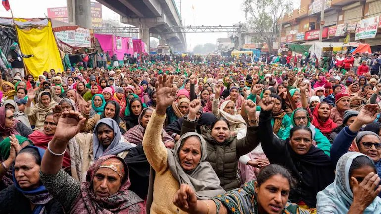 Women have been key players in the Indian farmers' strike.