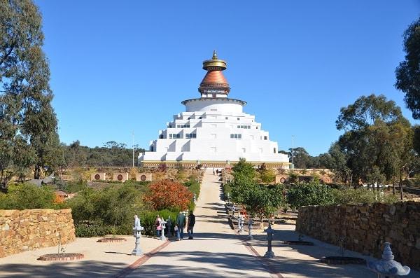 Buddhist Stupa in Bendigo- places to visit in regional Victoria