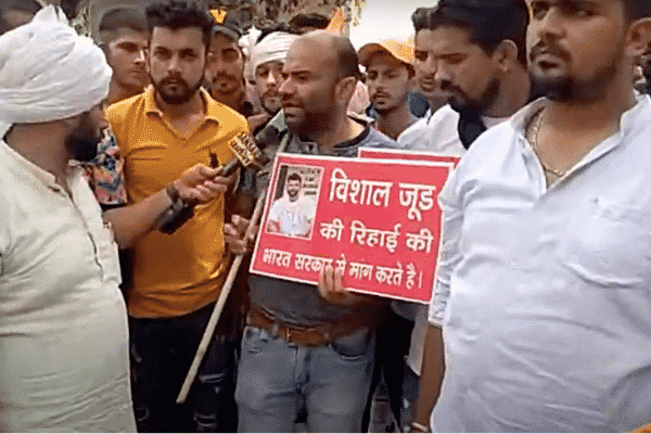 Vishal Jood supporters in India