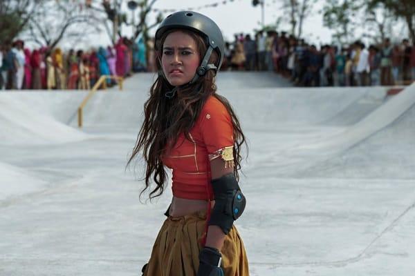 Rachel Sanchita Gupta as Prerna. skater girl movie review