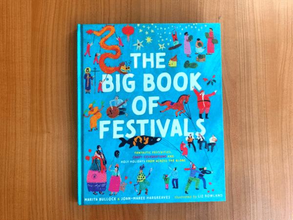 Front cover of 'The Big Book of Festivals'. Source: Hachette Australia
