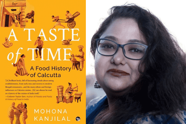 A Taste of Time (left) by Mohona Kanjilal (right)
