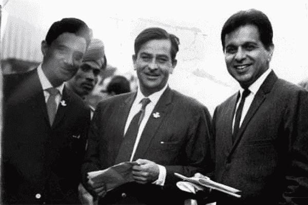 Dilip Kumar, Raj Kapoor and Dev Anand