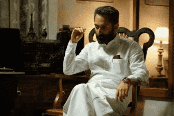 Fahadh Faasil looks commanding as the 64-year-old Sulaiman Malik