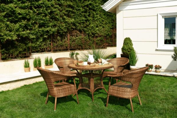 Garden furniture idea