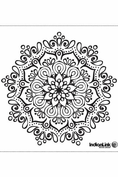 Diwali Art Mandala