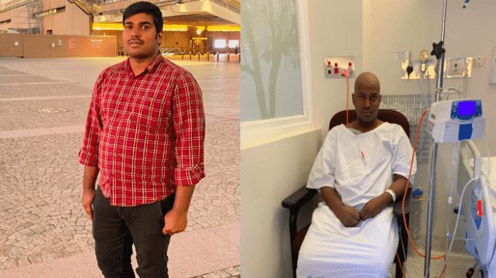 Chandrakanth Madireddy fights leukaemia