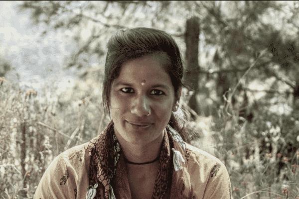 Hema, an elected woman from Uttarakhand.