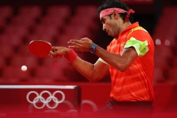 """India's top table tennis player, 38-year-old Achanta Sharath Kamal has said that he would take a """"lot of positives"""" from his defeat against China's former world No. 1. Source: IANS"""