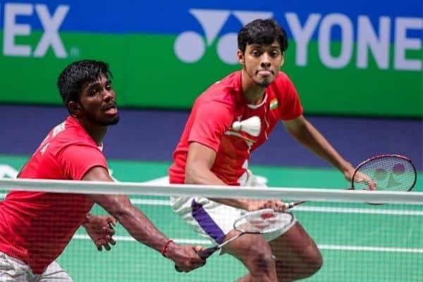 Men's doubles badminton pair of Satwiksairaj Rankireddy and Chirag Shetty.Source: IANS