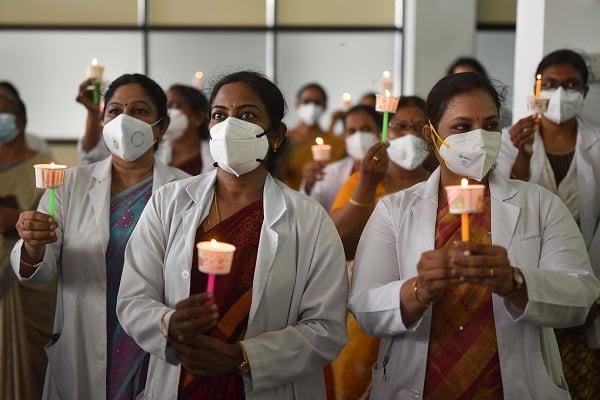indian doctors vigil