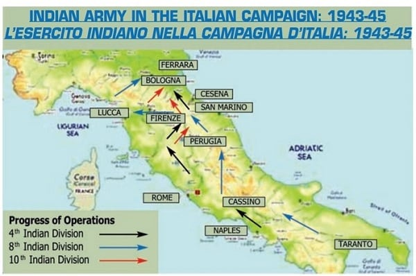 indian troops italy