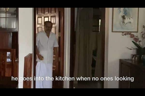 jugal chutney indian grandpa snacking habit