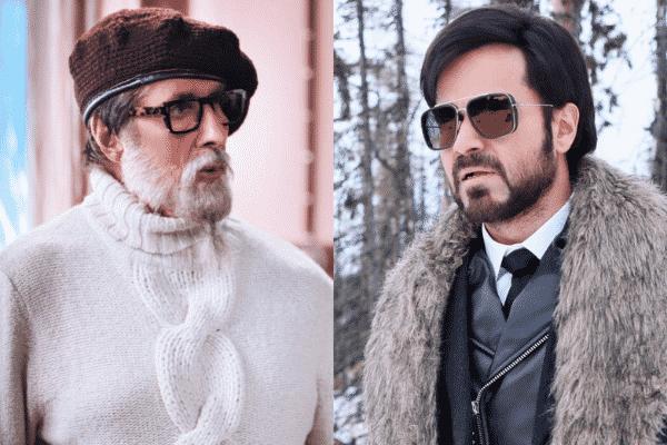 Amitabh Bachchan and Emraan Hashmi on screen. Source: Twitter