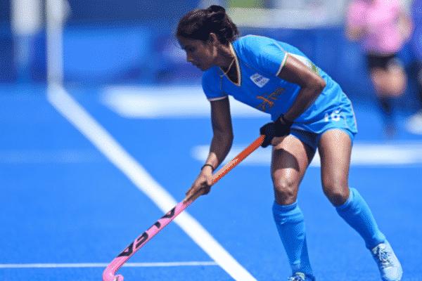 Indian hockey player Vandana Katariya.
