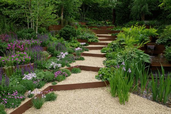 Garden set-up. Source: Supplied