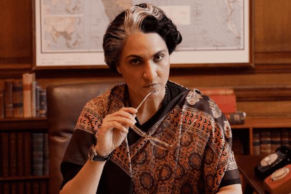 Lara Dutta as Mrs Indira Gandhi. Source: Twitter