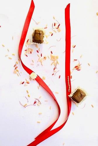 ribbon rakhi