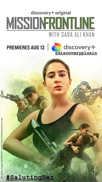 MISSION FRONTLINE WITH SARA ALI KHAN POSTER