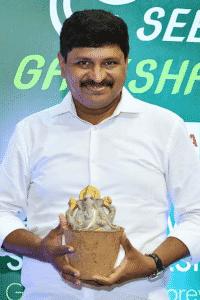 Joginipally Santosh Kumar launching- Seed Ganesha. Source: Twitter