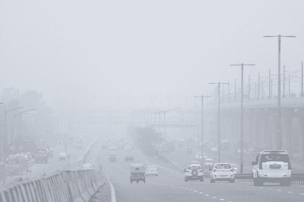 Delhi air pollution. Source: Twitter
