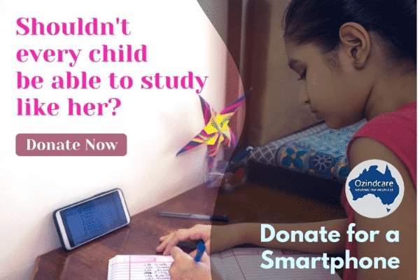 'Donate for a Smartphone' Campaign poster. Source: Provided