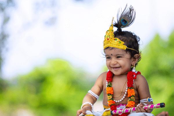 Dressing for Janmashtami Source: Canva