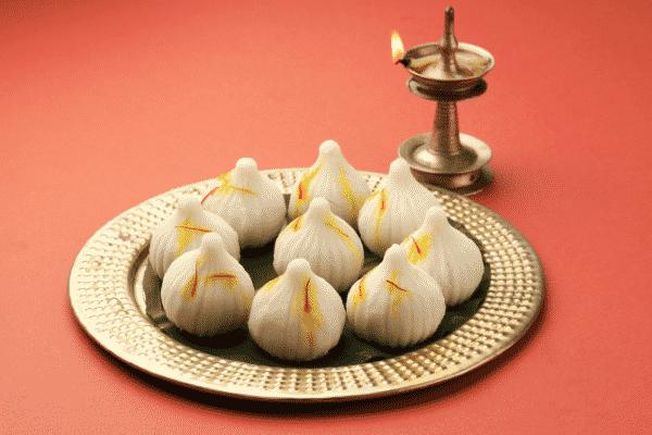Modak for Ganesh Chaturthi.  Source: Canva