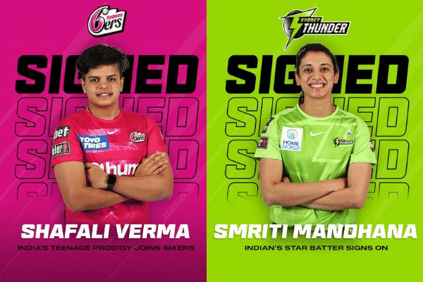 Shafali Verma and Smriti Mandhana Indian players in wbbl 2021