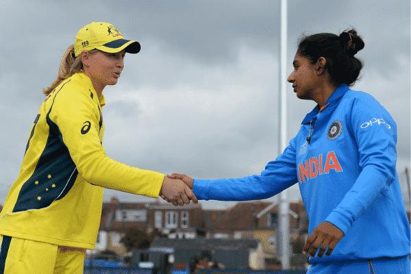 Australian captain Meg Lanning and Indian captain Mithali Raj. Source: Cricket.com