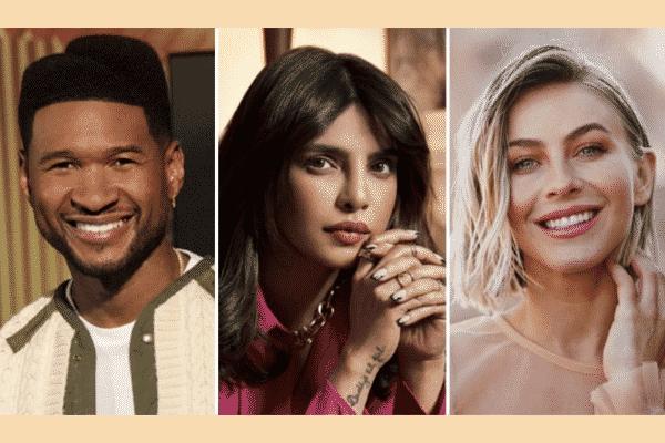 Usher, Priyanka Chopra Jonas, and Julianne Hough hosting documentary 'The Activist'. Source: Twitter