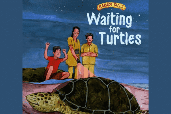 'Waiting for Turtles' book cover. Source: IANS