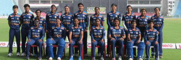Indian women's cricket team.